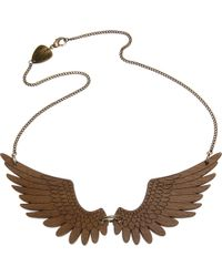 Tatty Devine - Metallic Pegasus Large Necklace - Lyst