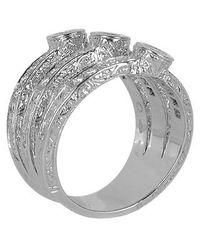 Torrini - Liu Collection - 18K White Gold Diamond Ring - Lyst