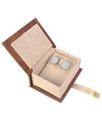 Torrini - Metallic Wallstreet Collection - 18k White Gold Diamond Earrings - Lyst