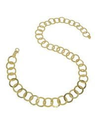 Torrini | Tuscania - 18k Yellow Gold Large Chiselled Chain | Lyst