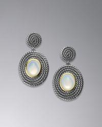 David Yurman Metallic Cable Coil Earrings