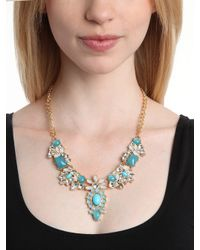 BaubleBar - Blue Azure Native Gem Necklace - Lyst