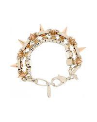 Joomi Lim - Metallic Spike Crystal Bracelet - Lyst