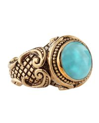 Stephen Dweck | Blue Shieldset Turquoise Ring | Lyst