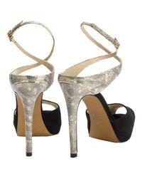 Whistles Black Sakini Platform Sandals