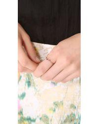 Blanca Monros Gomez - Metallic Ruby Seed Ring - Lyst