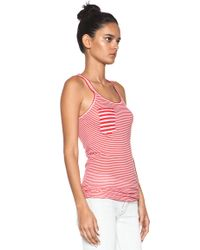 Étoile Isabel Marant | Emy Super Light Jersey Striped Tank in Stripes | Lyst