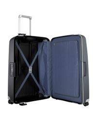 Samsonite Black S'Cure 4-Wheel Large Spinner Suitcase