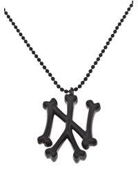 SSUR - Black Ny Bones Necklace for Men - Lyst