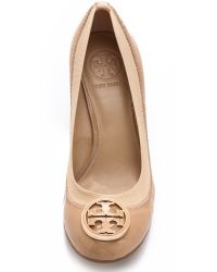 Tory Burch - Natural Caroline Wedge Pumps - Lyst