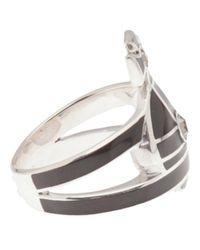 Vivienne Westwood   Black Orb Ring   Lyst
