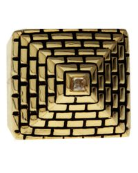 Han Cholo | Metallic His Pyramid Ring for Men | Lyst