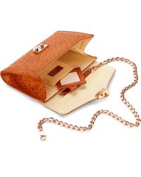 Aspinal Brown Manhattan Clutch Bag