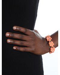 BaubleBar - Pink Coral Bramble Bloom Bracelet - Lyst