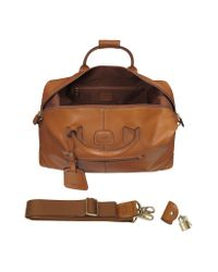 Bric's | Brown Life Pelle - Medium Leather Travel Bag for Men | Lyst