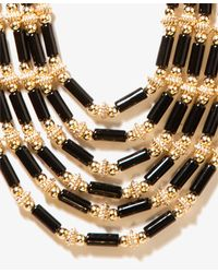 Forever 21 - Black Layered Bead Necklace - Lyst