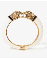 Forever 21 - Natural Lacquered Jaguar Bracelet - Lyst