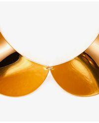 Forever 21 - Metallic Peter Pan Collar Bib Necklace - Lyst