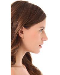 Genevieve Jones - Metallic Classic Harvest Safety Pin Earrings - Lyst