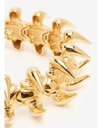 Giuseppe Zanotti - Metallic Spike Choker Necklace - Lyst