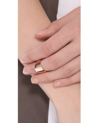 Kristen Elspeth - Metallic Myth Knuckle Ring - Lyst