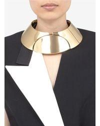 Lanvin | Metallic Three-plate Necklace | Lyst