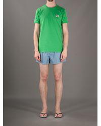 Dolce & Gabbana Blue Deck Shorts for men