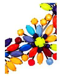 Tom Binns - Multicolor Riri Painted Swarovski Crystal Necklace - Lyst