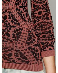 Free People Black Intimately Womens Printed Low Back Cami