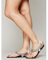 Free People White Charmer Sandal