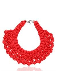 Alienina | Red Synthesis Collection Necklace | Lyst