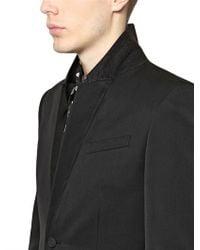 Burberry Prorsum Black Ottoman Wool Two Buttons Tuxedo Jacket for men