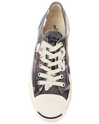 Converse Gray The Jack Purcell Floral Sneaker