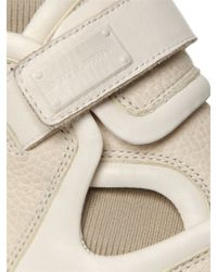 Dolce & Gabbana White Nappa Leather High Top Sneakers for men