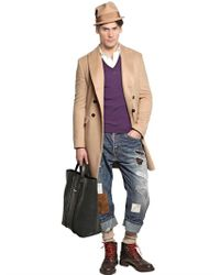 DSquared² Blue Big Deans Bro Mississippi Denim Jeans for men