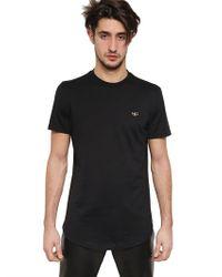 Givenchy Black Hdg Logo Cuban Fit Cotton Jersey T-shirt for men