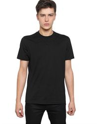Givenchy Black Stars Cuban Fit Cotton Jersey T-shirt for men