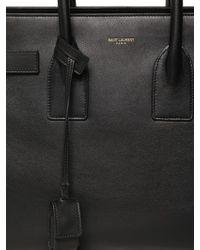 Saint Laurent | Black Small Sac De Jour Soft Leather Bag | Lyst