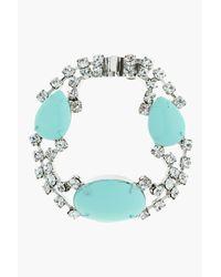 Tom Binns - Green Pastel Mint and White Crystal Madame Dumont Bracelet - Lyst