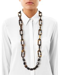 'S Max Mara | Brown Titty Necklace | Lyst