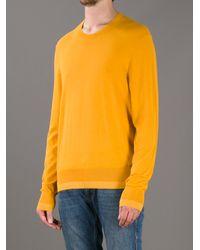 Acne Studios | Yellow Adam Pullover for Men | Lyst