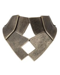 Delphine Charlotte Parmentier - Metallic Gold Bausch Torque Necklace - Lyst