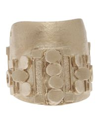 Delphine Charlotte Parmentier - Metallic Gold Plated Fingertip Ring - Lyst