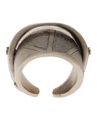 Delphine Charlotte Parmentier - Metallic Gold Plated Knuckle Ring - Lyst