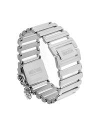 Boutique Moschino Metallic Wrist Watch