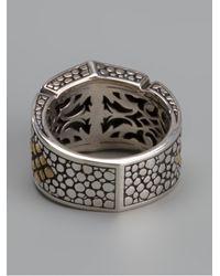 Stephen Webster - Metallic Chunky Engraved Ring for Men - Lyst
