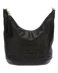 Gucci | Black Soho Patent Leather Chain Shoulder Bag | Lyst