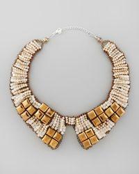 Nakamol | Multicolor Beaded Bib Collar Necklace | Lyst