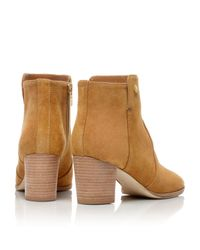 Tory Burch Natural Suede Sabe Bootie
