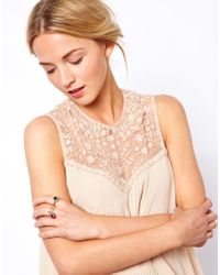 ASOS Collection - Multicolor Limited Edition Jewel Ring Pack - Lyst